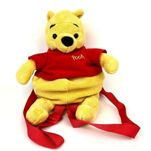Disney Winnie The Pooh Plush Backpack